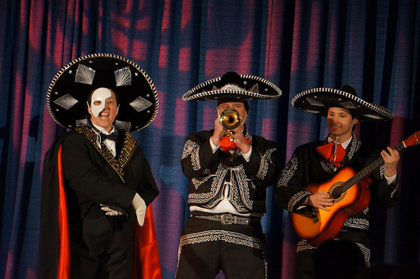 Phantom of the mariachi